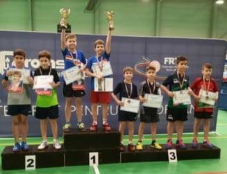 Alexandru Ionel si Mihai Nagy, pe podium la Nationalele juniorilor III la tenis de masa