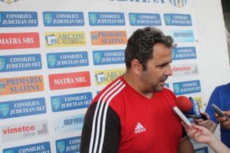 Alexandru Pelici si-a dat demisia dupa remiza cu FC Olt