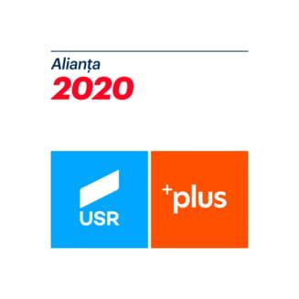 Alianta USR PLUS acuza Primaria Capitalei ca a folosit companiile muncipale pentru a amplasa bannere PSD (Foto)