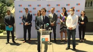 Alianta USR-Plus si-a prezentat cei sase candidati pentru primariile de sector. Nasui: Negocierile cu PNL continua