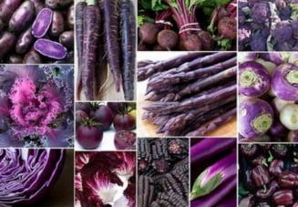 Alimente - minune pentru organism, intens colorate