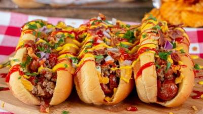 Alimente care te ajută să câștigi sau să pierzi minute de viață sănătoasa: Hot dog vs burger vs somon vs nuci