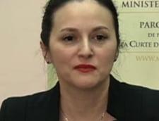 Alina Bica, suspendata din functia de procuror al Parchetului general