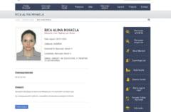 Alina Bica a fost data in urmarire de Politie, dupa condamnarea definitiva la inchisoare