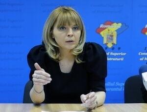 Alina Ghica poate fi revocata din CSM - 9 instante si-au dat acordul (Video)