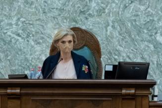"""Alina Gorghiu, despre decizia privind grupul de lucru: """"Aceste decizii nu ajung la Guvern prin porumbel. Deocamdata grupul nu exista"""""""