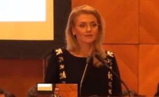 Alina Gorghiu, oficial, presedinte unic al PNL. Cine semneaza listele pentru parlamentare in locul lui Blaga