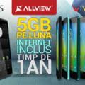 Allview a lansat doua tablete colorate: Internet gratuit timp de un an