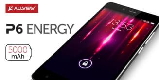 Allview a lansat smartphone-ul P6 Energy: Bateria tine pana la 21 de zile