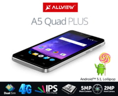 Allview a lansat un telefon ieftin: Dual-SIM si viteza 4G de Internet - Comparatie cu principalii rivali