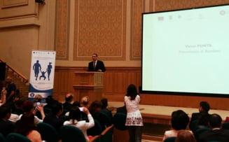 Alocatiile copiilor se dubleaza - Ponta: La un vot asa consistent, ne conformam