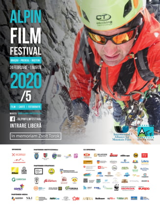 Alpin Film Festival: 7 zile dedicate filmului si culturii montane la Brasov, Busteni si Predeal