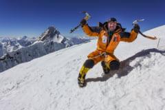 Alpinistul Alex Gavan, ascensiune incredibila pe Broad Peak, in memoria luptatorilor anticomunisti din munti (Video)