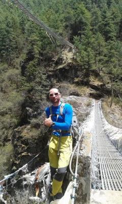Alpinistul Justin Ionescu, intors din Himalaya dupa cutremur: Era ca dupa un razboi, n-am mai vazut asa ceva