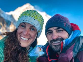 Alpinistul roman Alex Gavan si partenera sa, Tamara Lunger, au ajuns in tabara de baza de pe K2. Mesajul italiencei