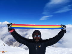 Alpinistul roman Radu Albu a escaladat un varf de peste 8.000 de metri din Himalaya