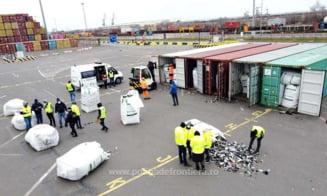 Alte 15 containere cu deseuri periculoase sosite din Germania au fost oprite sa intre in tara