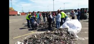 Alte 30 de containere cu deseuri, descoperite in portul Constanta. Seful Garzii de Mediu acuza crima organizata