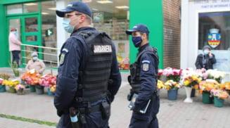 Altercatie cu cutite in zona Fantanii Sperantei din Slatina. Un jandarm a scos pistolul pentru a-i opri pe scandalagii