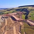 Alunecare masivă de teren pe Autostrada Transilvania. Se ia în calcul schimbarea traseului VIDEO