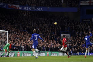 Alvaro Morata a decis de unul singur derbiul Chelsea - Manchester United