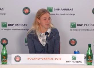 Amanda Anisimova explica infrangerea suferita in semifinale la Roland Garros