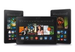 Amazon a lansat tabletele Kindle Fire HDX