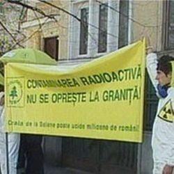 Ambasada Bulgariei, pichetata de ecologisti in legatura cu Belene