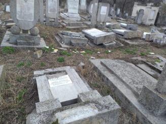 Ambasada SUA condamna recenta vandalizare a cimitirului evreiesc din Husi
