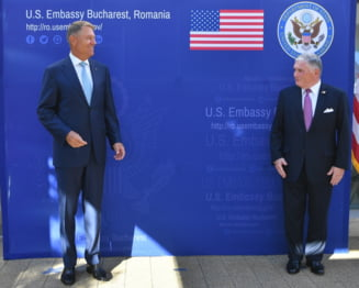 """Ambasada SUA l-a felicitat pe Iohannis pentru castigarea premiului """"Kaiser Otto 2020"""". """"A transformat Romania intr-un lider la nivel regional si european"""""""