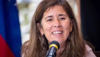 """Ambasadoarea UE declarata """"persona non grata"""" si expulzata din Venezuela va parasi marti tara"""