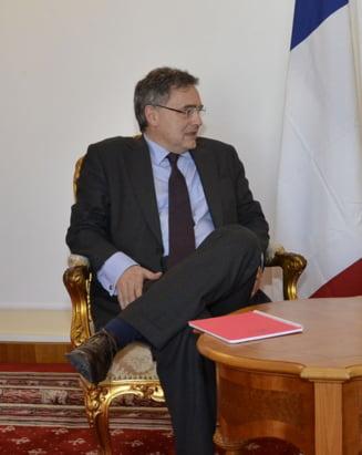Ambasadorul Frantei: Am fost frapat de pozitia Romaniei pe chestiunea refugiatilor