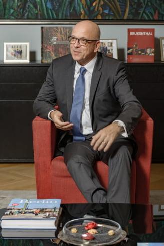 Ambasadorul Germaniei: Ultimii trei ani in Romania au fost agitati. Salut angajamentul foarte ferm al noului guvern de a pune in aplicare recomandarile europene
