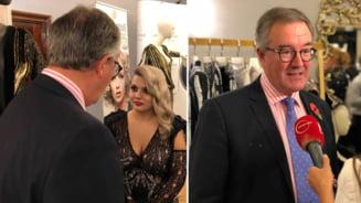 Ambasadorul Marii Britanii, la inaugurarea showroomului buzoiencei Antonia Nae