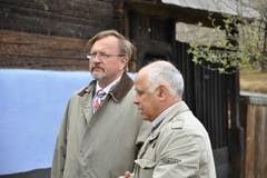 Ambasadorul Regatului Norvegiei in Romania in vizita la Muzeul Astra