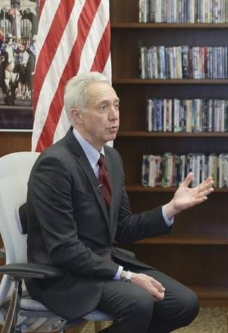 Ambasadorul SUA: DNA a pus oameni puternici in inchisoare, care se intorc amenintator impotriva lui Kovesi. Lupta trebuie sa continue!