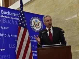 Ambasadorul SUA: Faptul ca un condamnat a fost ales primar transmite un mesaj periculos
