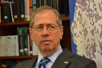 Ambasadorul SUA a venit la sediul MAI, dupa demisia lui Rus