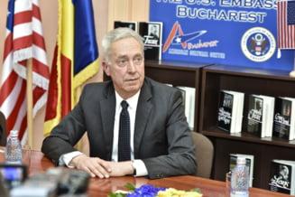 Ambasadorul SUA apreciaza poporul roman pentru toleranta exprimata la referendum