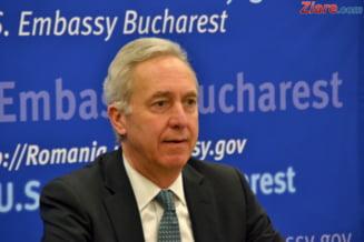 Ambasadorul SUA la Bucuresti, despre un nou mandat la DNA, Kovesi si coruptia din Romania