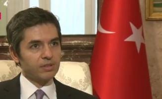 Ambasadorul Turciei la Bucuresti, despre acuzatiile de tortura in inchisorile turce si relatia Erdogan-Putin
