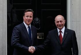 Ambasadorul britanic: Basescu si Cameron au colaborat pentru cresterea economiei