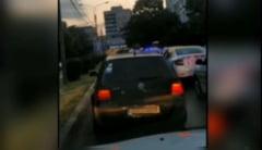 """Amenințarea unui taximetrist la adresa polițistului care l-a oprit în trafic: """"Crezi că vei fi mereu îmbrăcat în uniformă?"""" VIDEO"""