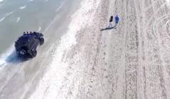 Amenzi URIASE: Vezi cat i-a costat aroganta pe soferii care au intrat cu masinile pe plaja