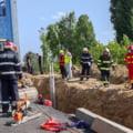 Amenzi de 150.000 de lei pentru șantierul ilegal al firmei Primăriei Sectorului 3. Doi muncitori au murit sub un mal de pământ