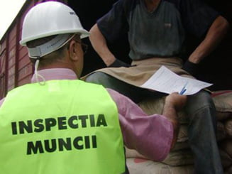 Amenzi de 27.500 de lei aplicate de inspectorii de munca, in luna aprilie