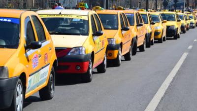 """Amenzi de peste 1,8 milioane de lei aplicate taximetristilor in 2019. """"Punctele problema"""" din Capitala"""