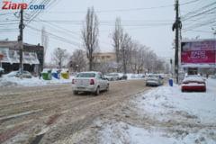 Amenzi in Bucuresti: Firmele care trebuiau sa deszapezeasca, sanctionate. Soferii, controlati la cauciucuri