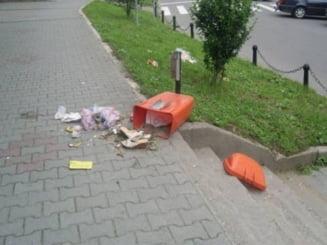Amenzi pentru botosanenii care arunca gunoiul pe strada