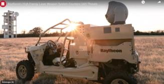 Americanii au deja arme ca-n filmele SF! De cateva zile, militarii testeaza un laser pentru distrugerea dronelor